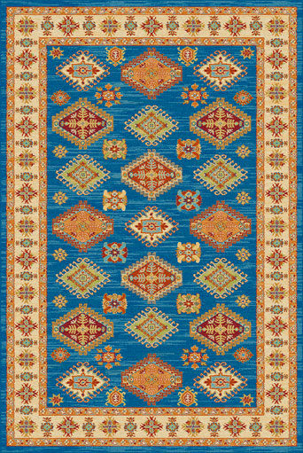 ALFOMBRAS 																		NATIVE-198 190x280 AZUL-07 S/D
