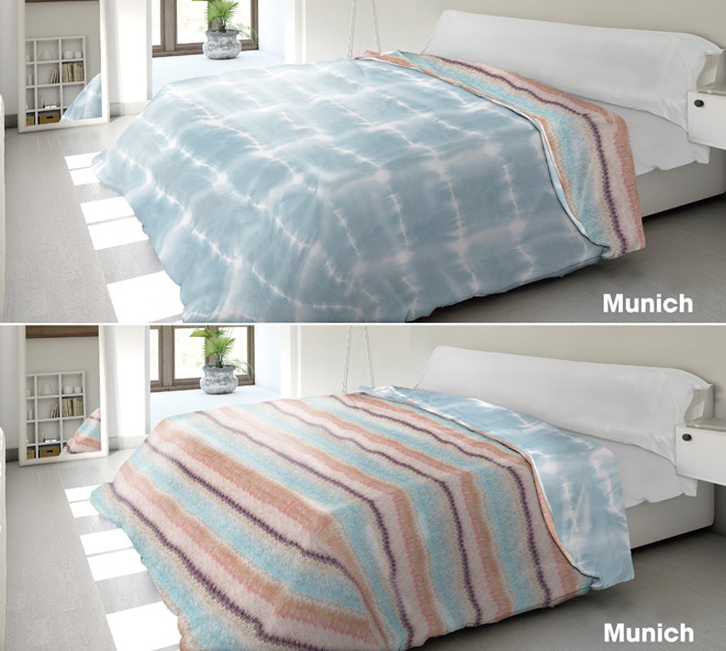 NÓRDICOS Y FUNDAS NÓRDICAS 																					Fundas nórdicas 																		MUNICH 180 cm. UNICO F.NORDICA